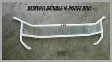 D2 front 4point strut bar for almera
