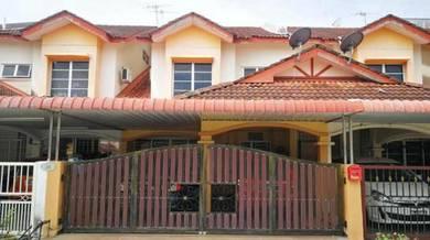 Renovated Double Storey Terrace at Taman Air Tawar Indah