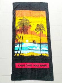 HAWAII KAUAI DAHU like new towel tuala kueii