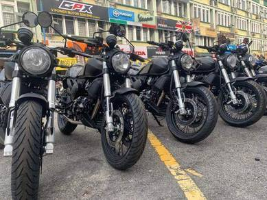 GPX GENTLEMAN 200 LE ( Low Deposit & Free Apply )