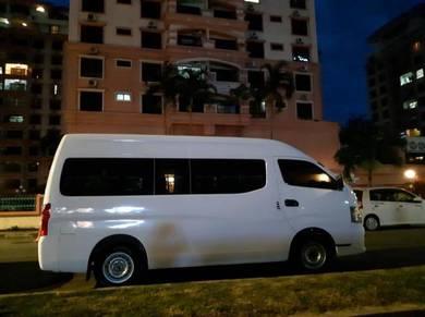 Sewa Bus Van rental Charter Tour Holiday Trip
