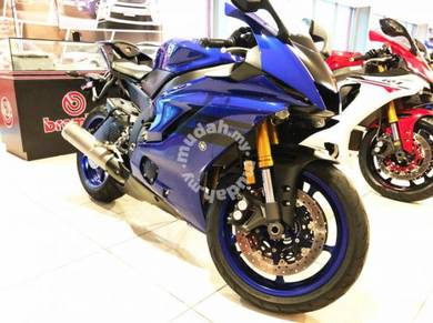 2018 Unregister Yamaha YZF-R6 Us Spec