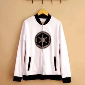 Star wars black white sith jacket