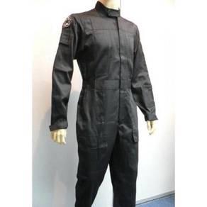 Star wars black white flight suit pilot jumpsuit