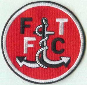 Fleetwood Town FC English England Football Patch