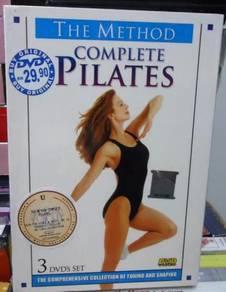 DVD The Method Complete Pilates (3DVD set)
