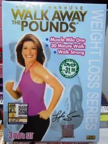 DVD LESLIE SANSONE Walk Away The Pounds (3DVD set)