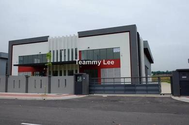 Easy Access1.5sty New Semi-D Factory LEKAS Technology Park 23 Lekas 23