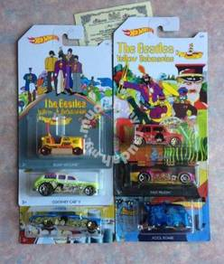 Hot WHEELS THE BEATLEs 1/6 - 6/6