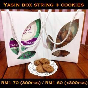 Yasin Box String + Cookies