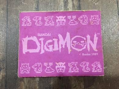Digimon vpet booklet ver 1 virtual pet tamagotchi