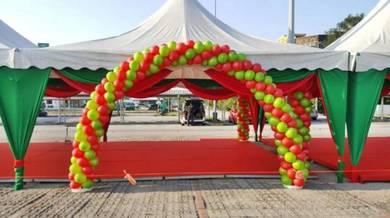 879) Wedding Arch Balloon Deco