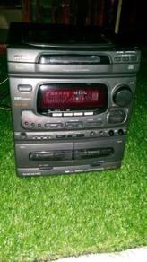 Aiwa nsx 520 tanpa speker