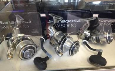 SHIMANO SARAGOSA SW 5000 ~ 25000 Fishing Reel