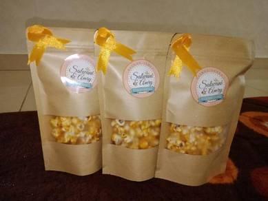 Popcorn doorgift.