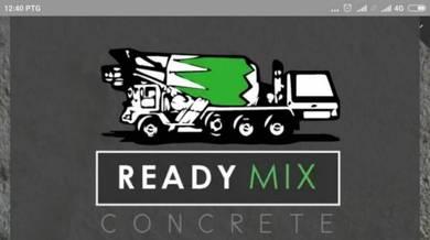 Concrete ready mix (simen siap bancuh)