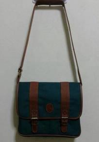 VINTAGE SMALL GREEN BAG POLO RALPH LAUREN 90s