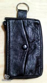 Leather Coin and Key Chain Purse