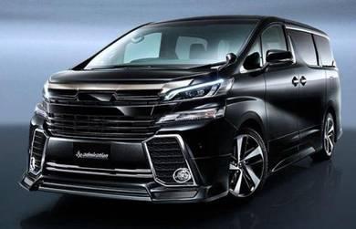Toyota Vellfire 2015 Admiration Bodykit Body kit