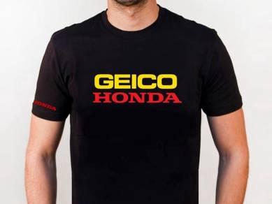 Baju T-Shirt GEICO HONDA NSQ175 siap poslaju