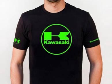 Baju T-Shirt KAWASAKI V NSQ183 siap poslaju