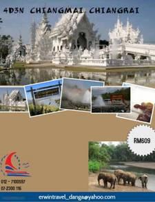 Erwin travel-4d3n chiangmai chiangrai