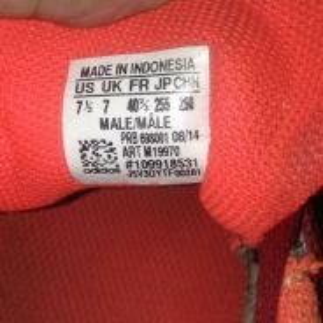 8/10 kasut adidas