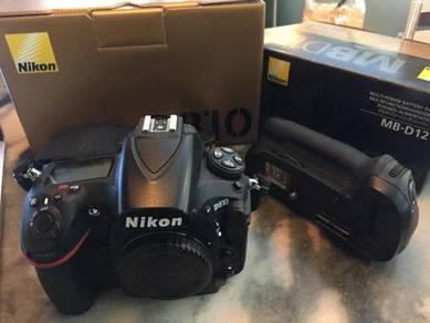 Nikon d810 body superb condition 97% new