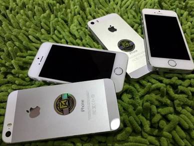 IPHONE 5s 16gb SILVER ORIGINAL SECOND