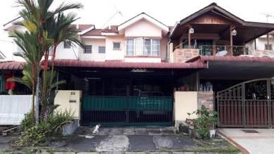 Double Storey house at Taman Pakatan Jaya