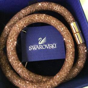 Swarovski stardust double loop