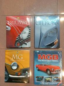 Triumph MGB MG Citroen Books honda bsa norton