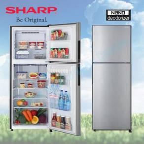 Sharp SJ-285MSS 280L 2 Door Fridge