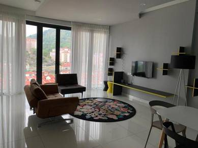 Arte S Opp USM 1428sf 3-Rooms 2-Carparks FULLY Renovated FURNISHED