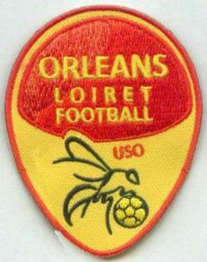 US Orleans Loiret FC French France Football Patch
