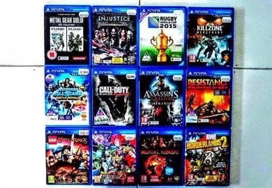 Senarai Games PS VIta Murah