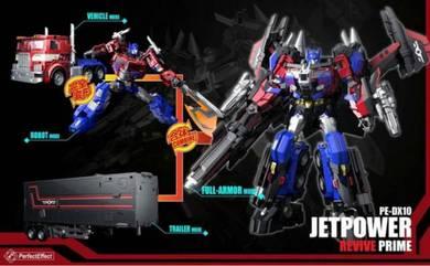Transformers PE DX10 Jetpower Revive Prime