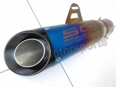 Exhaust Muffler Ekzos Universal S C 51mm 2 inch