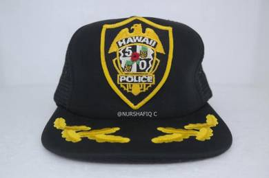 Snapback cap (hawaii police cap)
