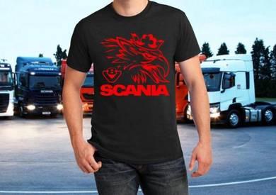 Tshirt Baju SCANIA V803 II TSV siap poslaju