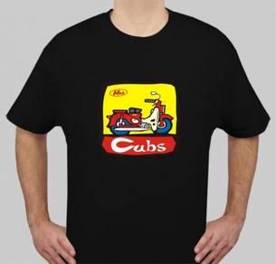 Baju T-Shirt HONDA C70 II NSQ195 siap poslaju