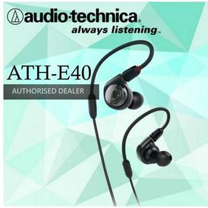 Audio-Technica ATH-E40 In-Ear Headphone(ATH E40)