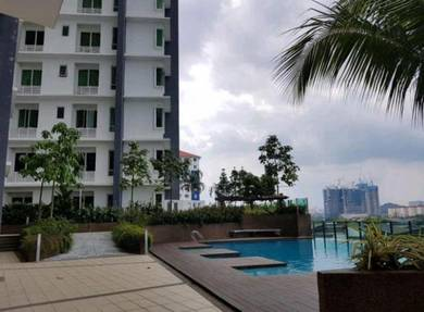 D'SURIA CONDO near Town (Swimming,Gym,BBQ Area )
