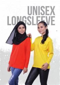 Print Tshirt Lengan Panjang Cotton