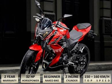 KAWASAKI Z 250 Free Akra exhaust(Apply Online)