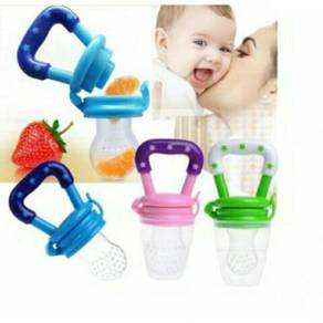 6Months + Feeding Pacifier baby fresh food fruits