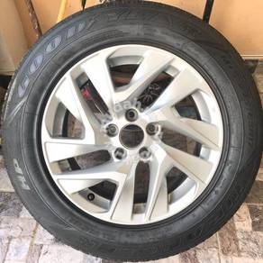 Origional Honda CRV 17 Goodyear Tyre with Sportrim