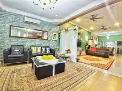 Fully RENOVATED & FURNISHED Double Storey Terrace Semenyih Parkland