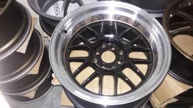 Rim 2nd BBS 16 4x100/114 8jj Like New