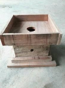 Kotak haif memudhkn pemantauan & pemecahan koloni